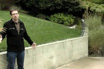 Retaining Wall Design - Smooth Stucco