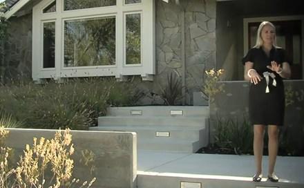 Video Entryway Design Concrete Steps Amp Walls