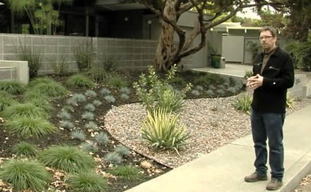a video transcript featuring joseph huettl huettl landscape architecture this project involved a mid century modern - Mid Century Modern Homes Landscaping